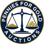 Pennies for Gold Auctions logo
